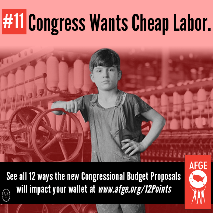 Congress wants cheap labor