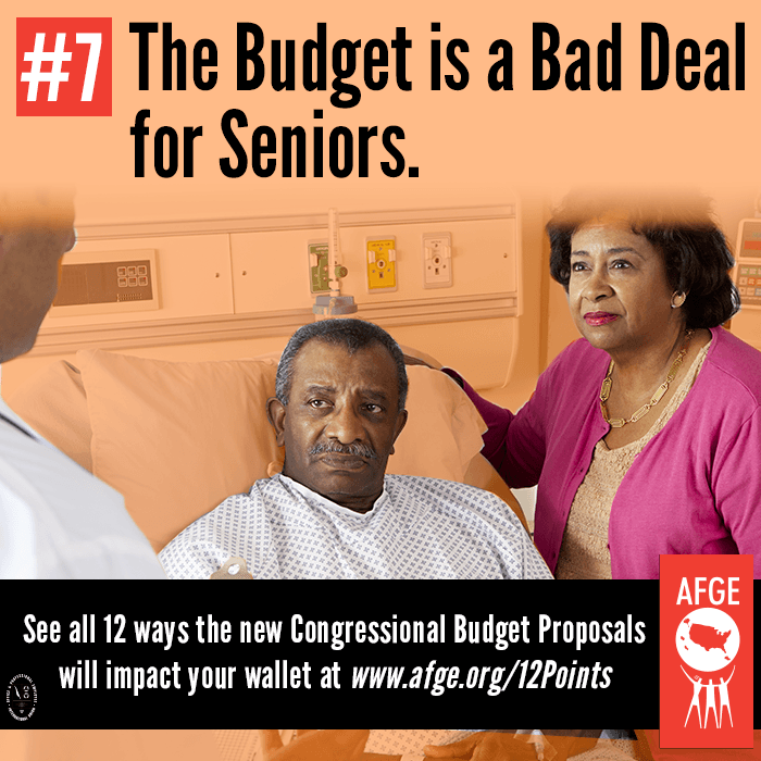 The budget is a bad deal for seniors.