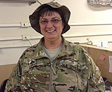 Defense Logistics Agency (DLA) Krissie Davis was killed by indirect fire in Afghanistan