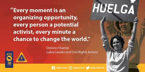 Dolores Huerta, Labor leader & civil rights activist