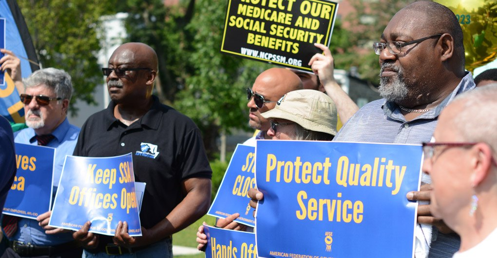 AFGE | Members and Allies Stand Up to Save Social Security
