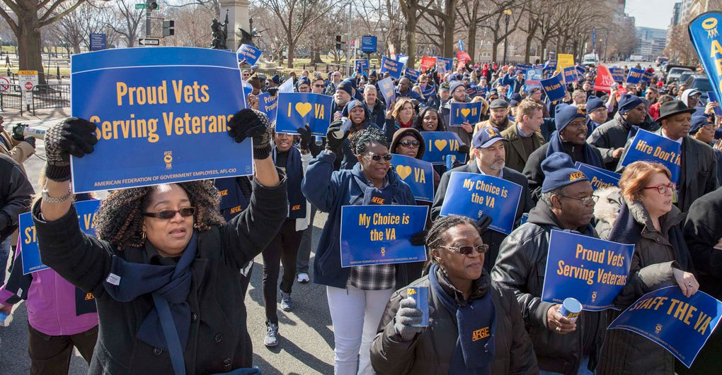 AFGE | AFGE Members at VA Win Major Arbitration in Another